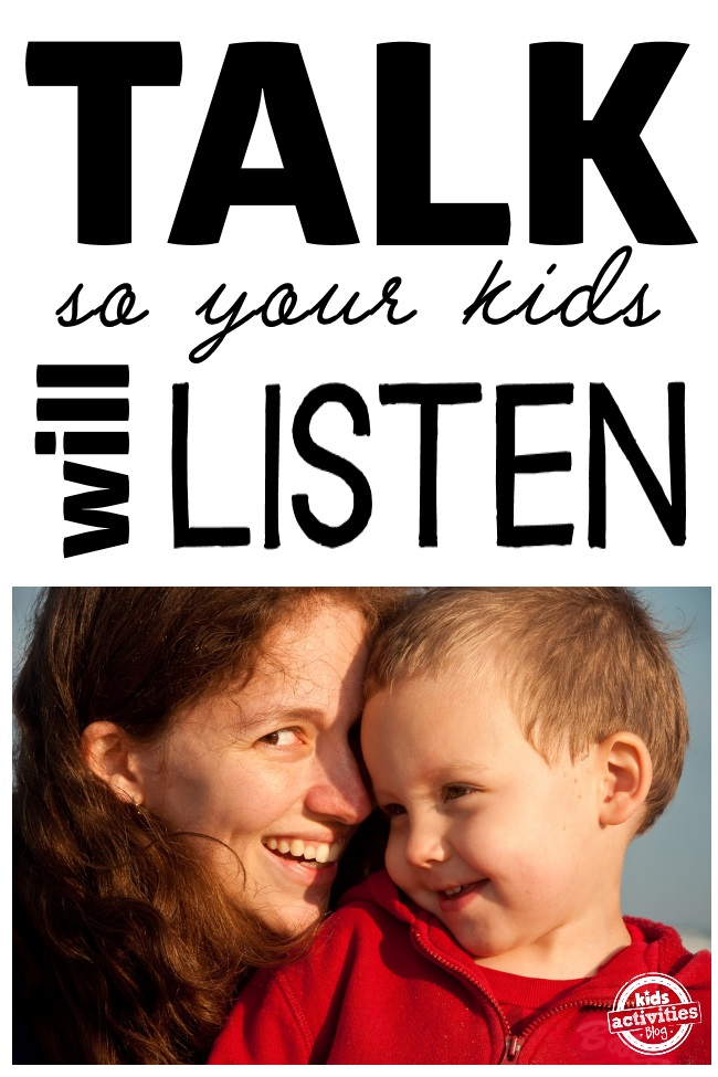 talking so your kids can listen