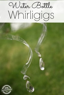 Water Bottle Craft ~ Whirligigs