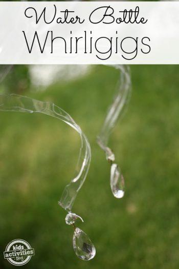 water bottle whirligigs