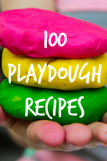 100 Homemade Play Dough Recipes