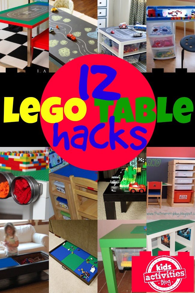 12 LEGO Table Hacks - Kids Activities Blog
