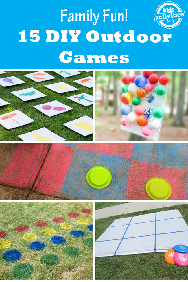 15 DIY Outdoor Games