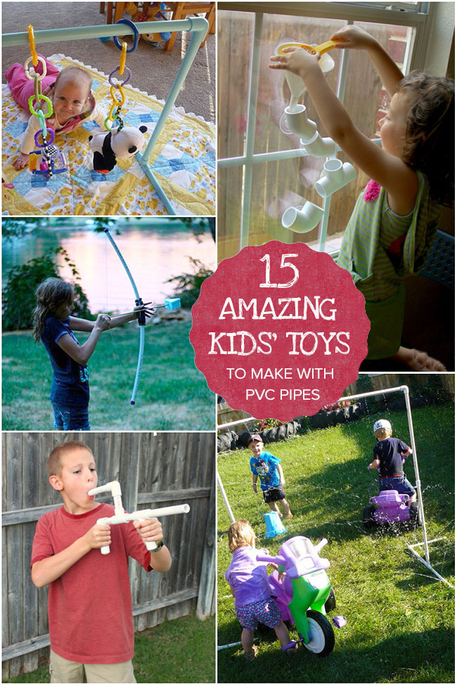 Toys to Make with PVC Pipes