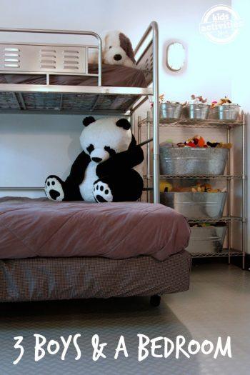3 Boys Share 1 Bedroom - Kids Activities Blog