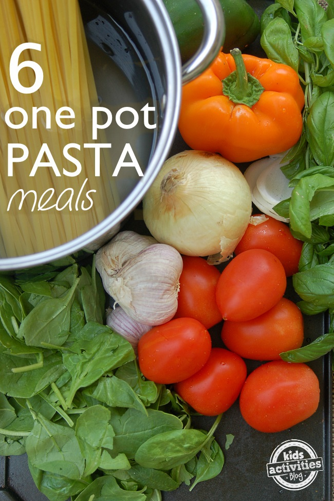 6 one-pot pasta recipes quick and easy