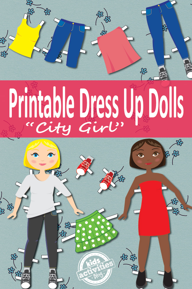 image about Paper Dolls to Printable titled Costume Up Dolls Cost-free Little ones Printable
