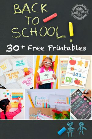 Back To School Free Printables