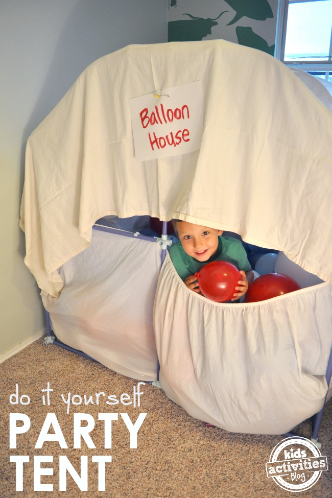 fort de fête en montgolfière