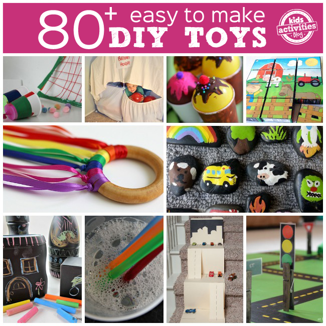 80 diy toys to make