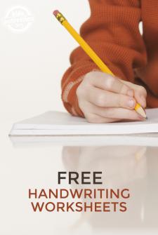 10 Free Handwriting Worksheets