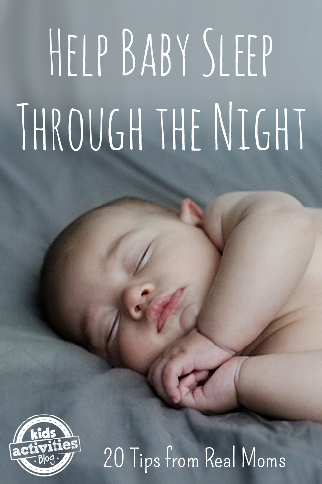 Help Baby Sleep Through the Night