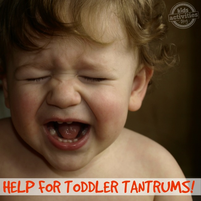 Help for Toddler Tantrums - Kids Activities Blog