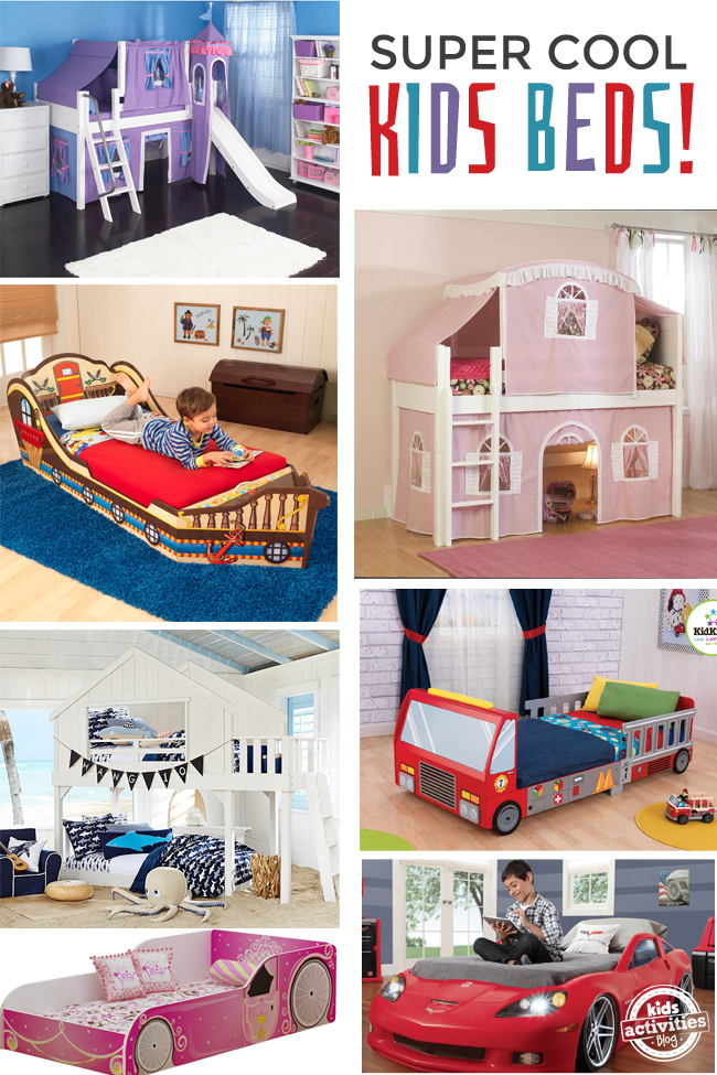 8 {Super Cool} Kids Beds