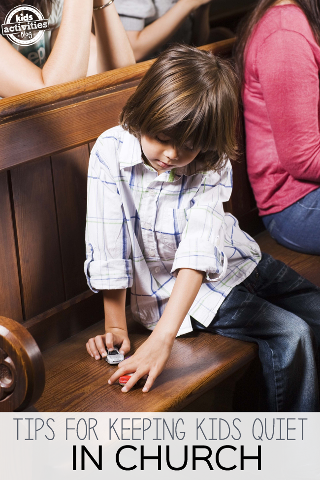 How Can I Keep My Kids Quiet In Church?