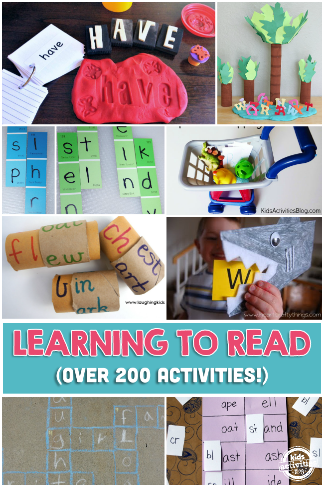 200+ Fun and Easy Learn To Read Activities Your Child Will ...