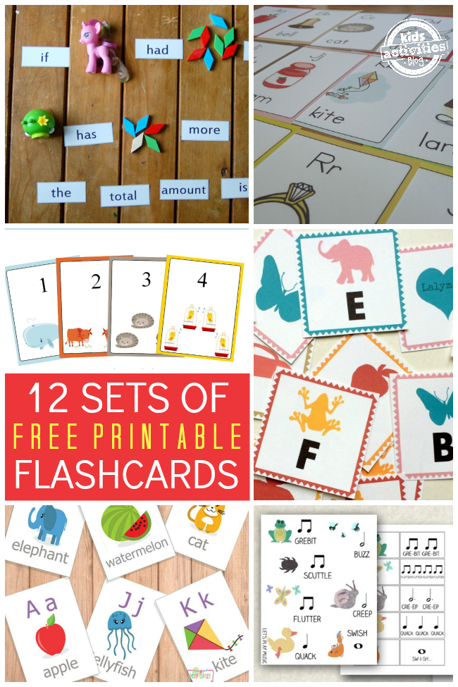12 sets of free printable flashcards. Black Bedroom Furniture Sets. Home Design Ideas
