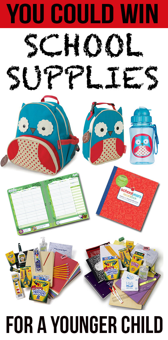 School Supplies- Younger Child