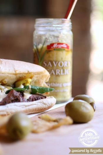 Steak Sandwich Recipe - Kids Activities Blog