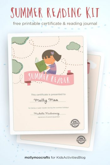 Summer Reading Kit Free Printable
