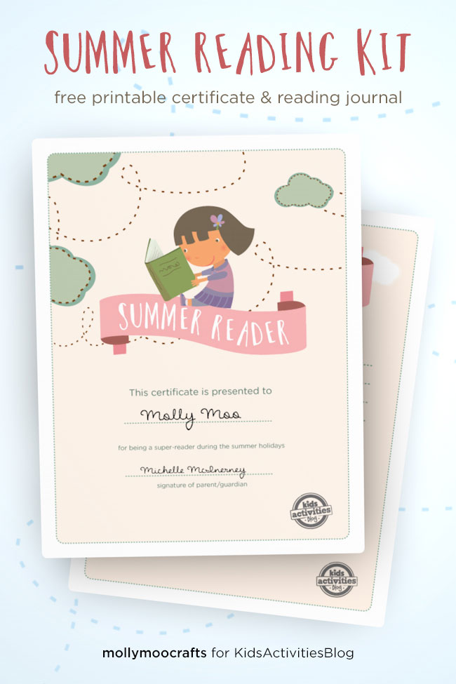 graphic regarding Reading Journal Printable called No cost Printable Summer months Looking at Package