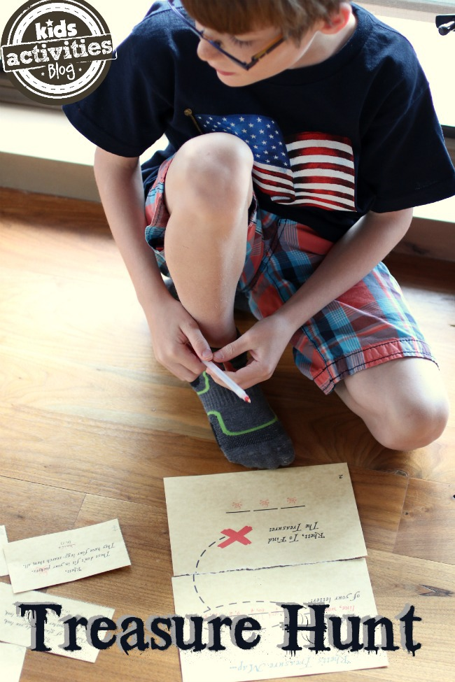 Treasure Hunt - Kids Activities Blog