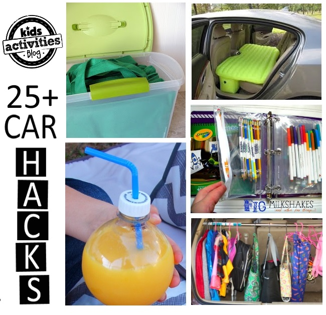 car hacks for families