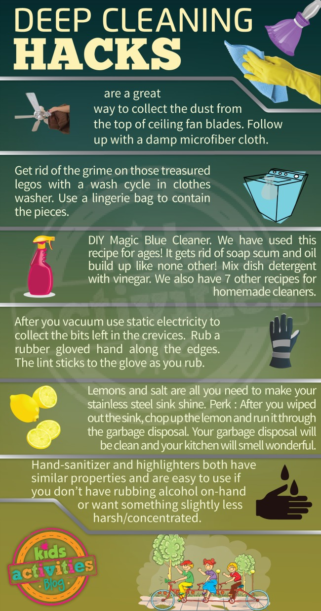 Deep Cleaning Hacks That Will Make Spring Cleaning Easier!