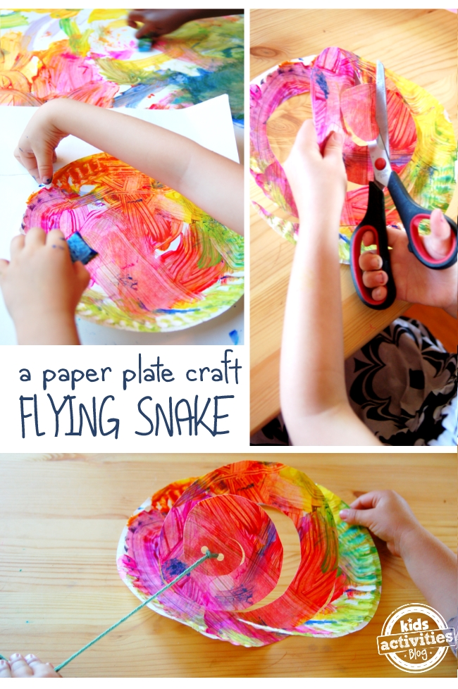 Flying Snake Art