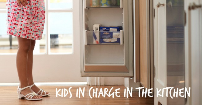 kids in charge in the kitchen - Kids Activities Blog
