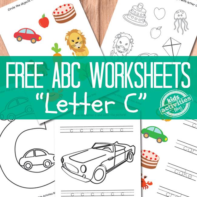 Letter C Worksheets Free Kids Printables – Letter C Worksheets