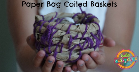 paper bag coiled baskets Facebook
