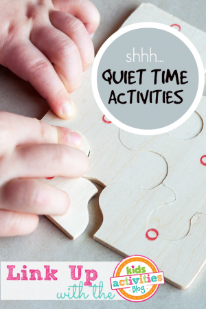 Quiet Time Activities :: Share YOURS!