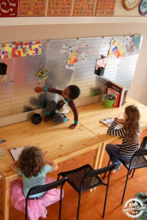 ideas to make a school room for learning