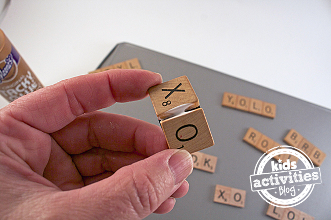 Scrabble Tile Craft