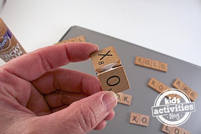 Scrabble Tile Craft