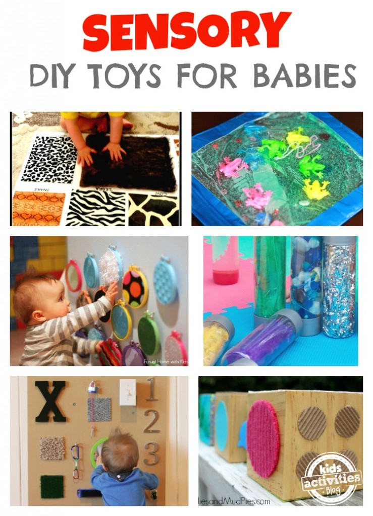 Tactile Learning Toys : Diy toys for babies