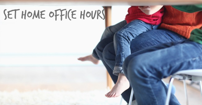 set home office hours