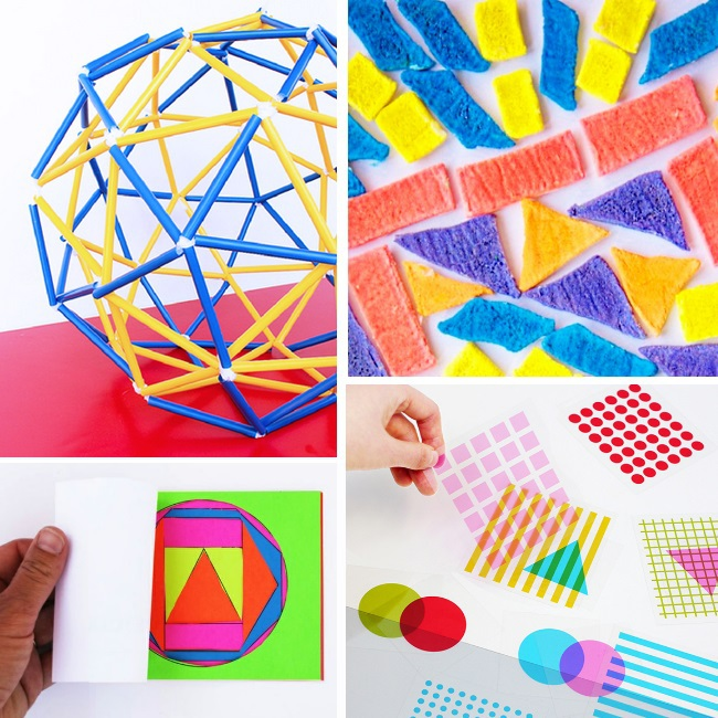 shape and color activities for preschoolers - more fun games and activities to add to a preschool at home curriculum
