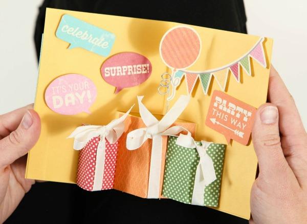 surprise pop up card