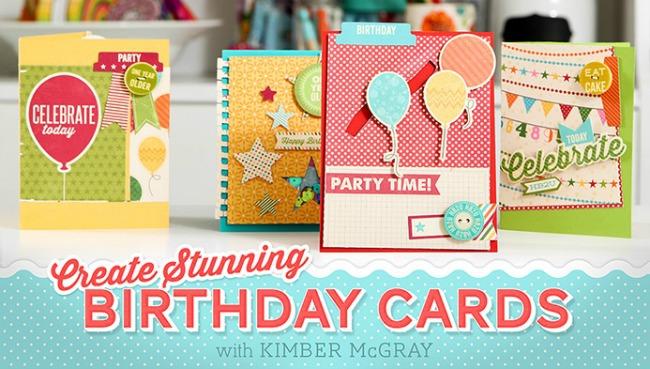 Free Birthday Card Making Class