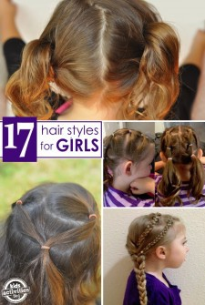 17 {Terrific} Hair Styles for Little Girls