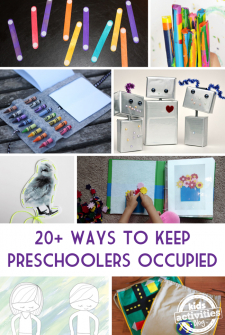 20+ Creative Ways to Keep Preschoolers Occupied at a Restaurant