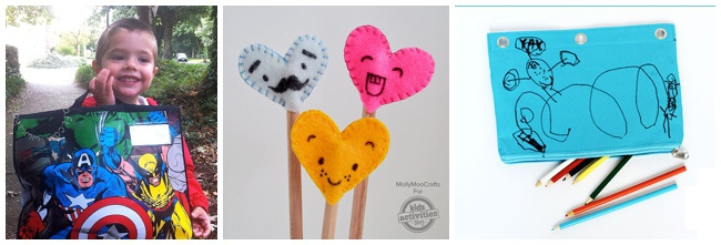 23 back to school crafts from KidsActivitiesBlog