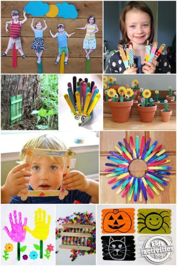 30 Children's Popsicle Stick Crafts