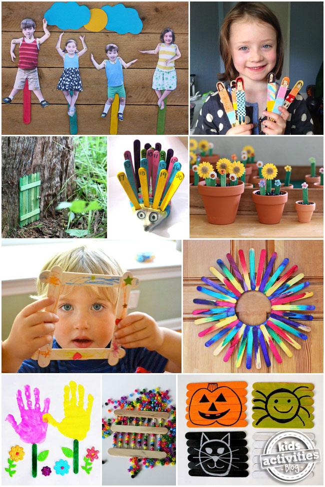 30 Popsicle Stick Crafts For Kids - Kids Activities Blog