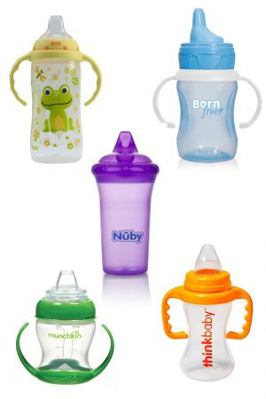The Best Cups to Use When You're Weaning Baby from Bottle