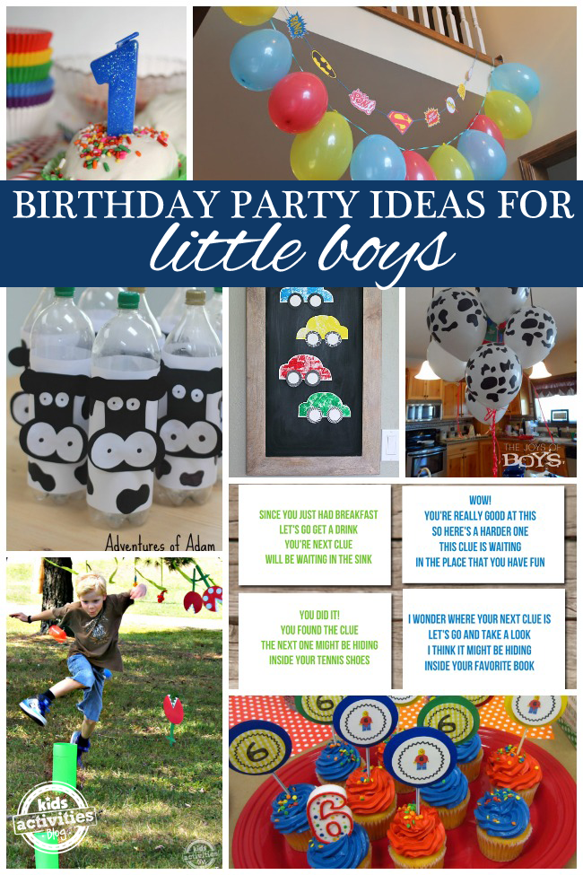 50 Fun Birthday Ideas For Boys