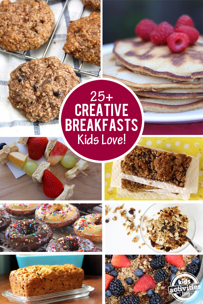 25 Creative Breakfast Recipes Kids Love
