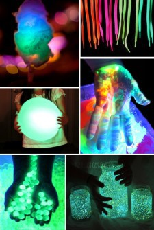 Glow in the dark ideas for kids feature