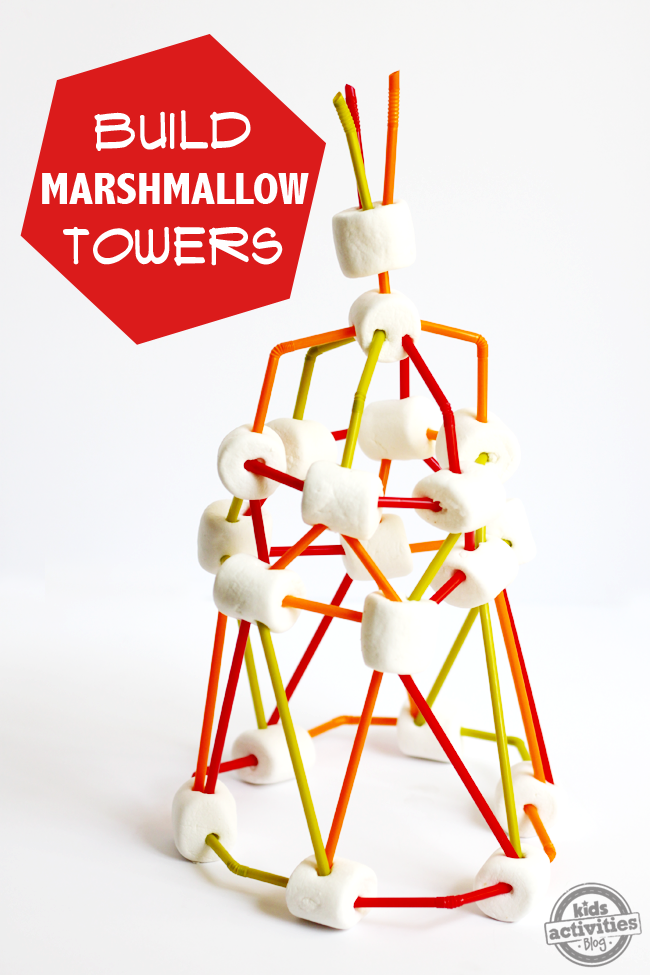 How To Build A Jumbo Marshmallow Tower